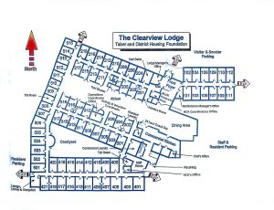 Clearview Lodge Floor Plan May 2018