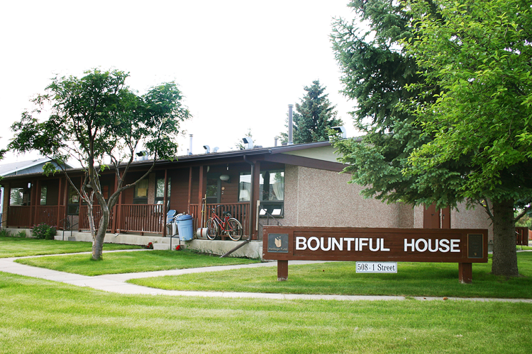 Bountiful House front entrance