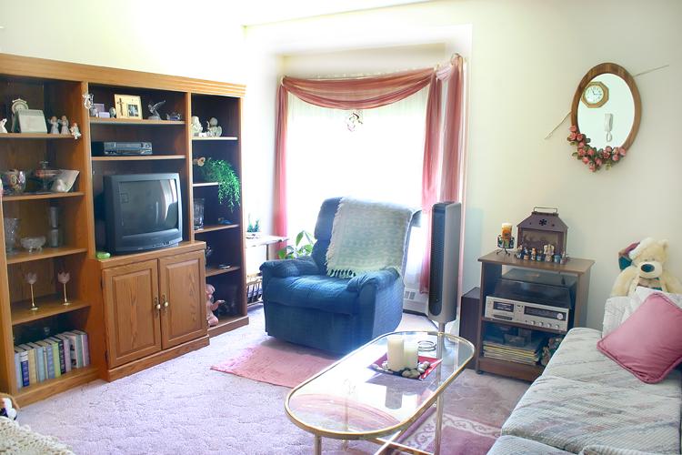 Homestead Manor - Living Room