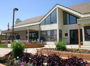 Homestead Manor - Entrance