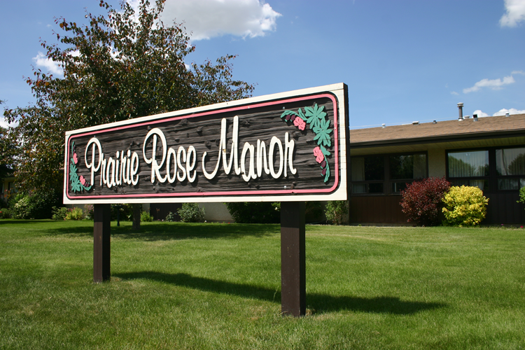 Prairie Rose Manor - outside